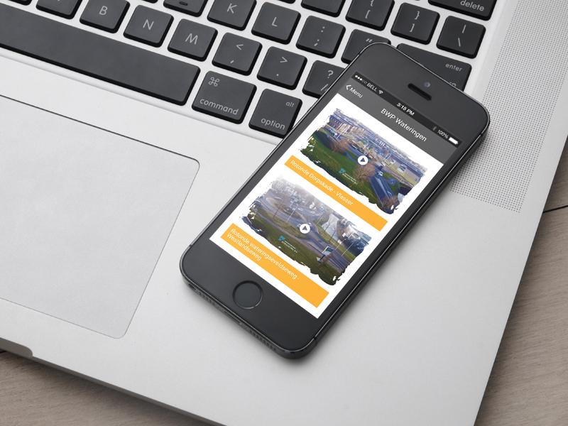 BIZ BWP Wateringen iOS Applicatie