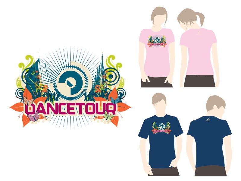 Dancetour Grafisch Ontwerp