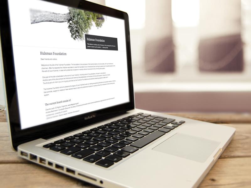 Hulsman Foundation Wordpress Website