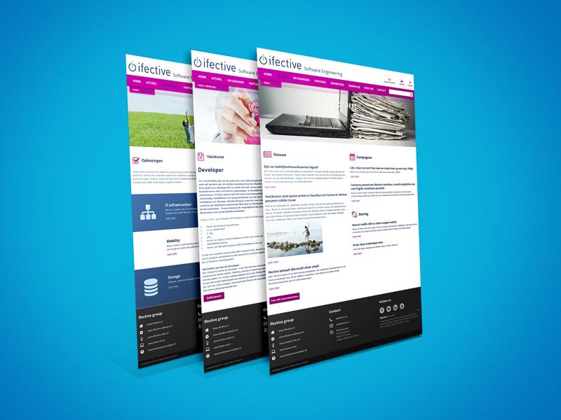 Ifective Maatwerk Website