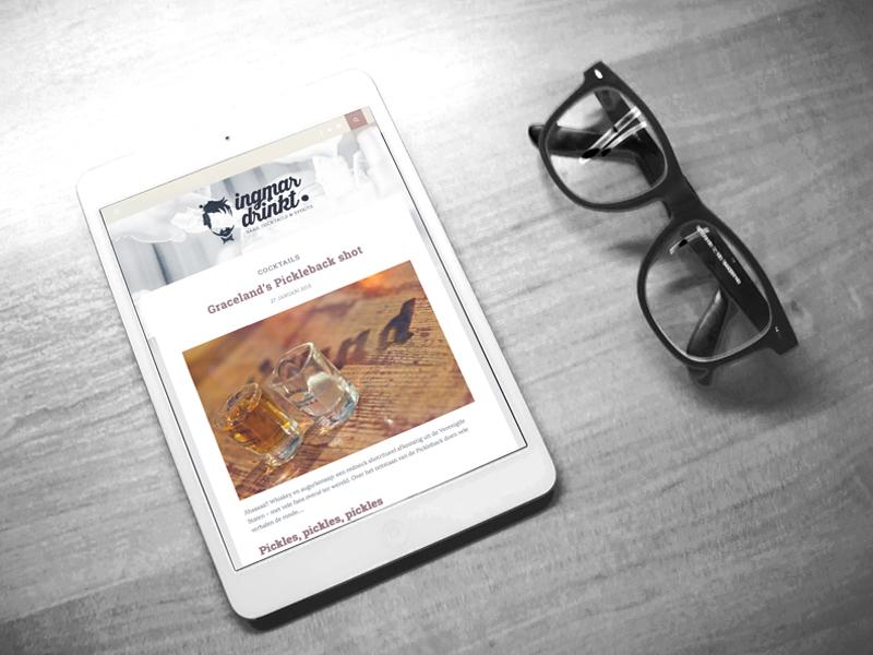 Ingmar Drinkt Mobielvriendelijke Website