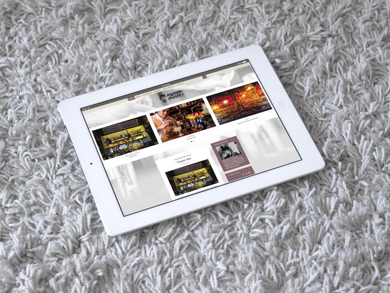 Ingmar Drinkt Website Tablet