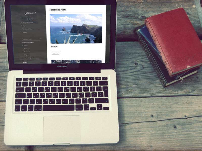 Jehanne Responsive Website