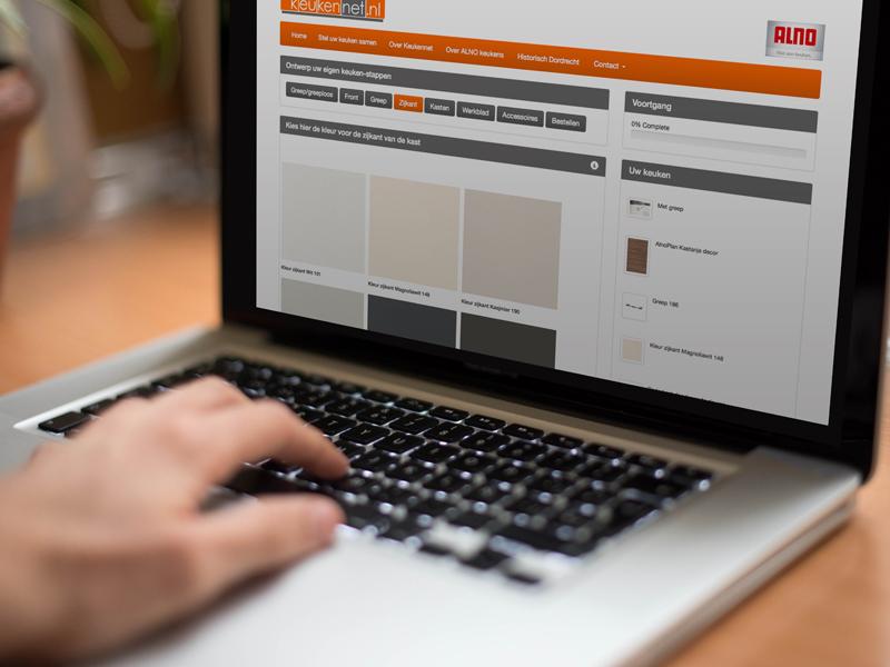 Keukennet Responsive Website