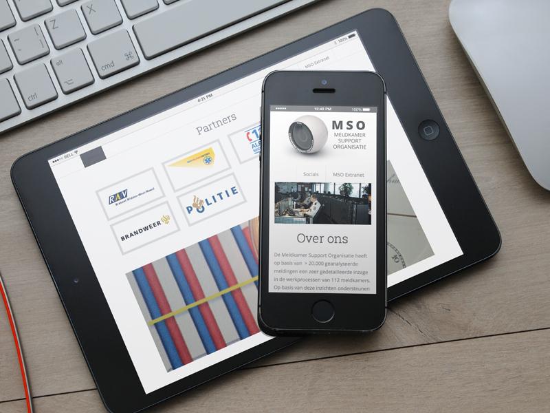 Meldkamersupport Mobiele Website