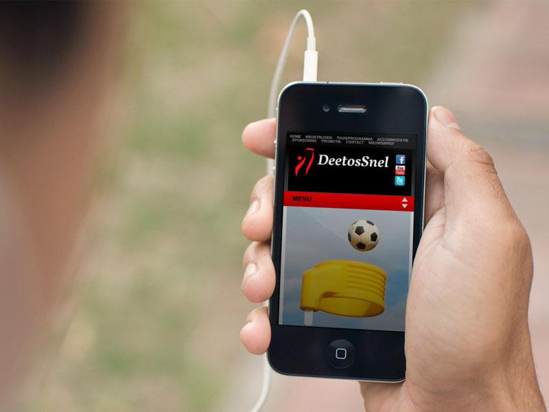DeetosSnel Mobiele Website