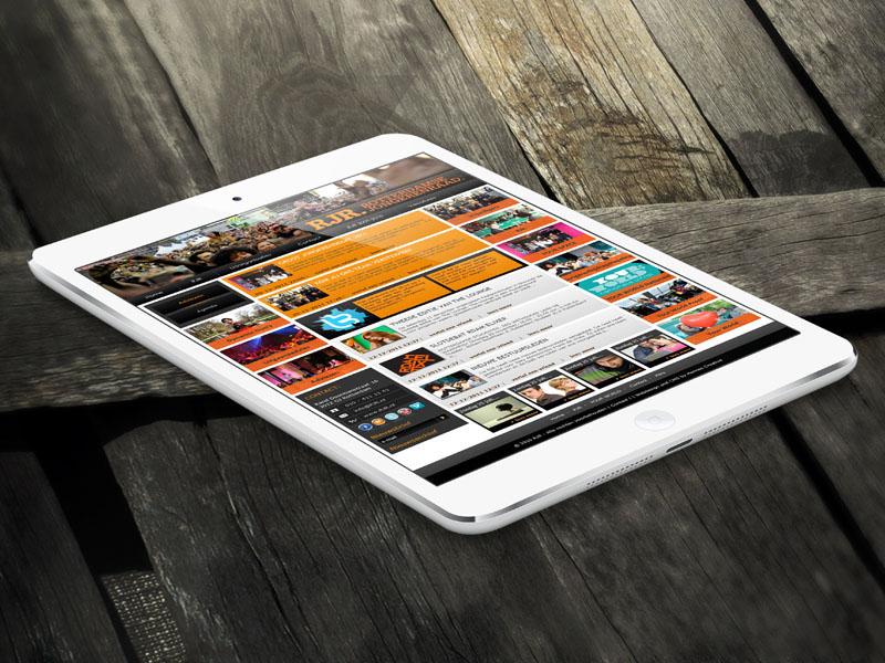 Rotterdamse Jongerenraad Mobiele Website
