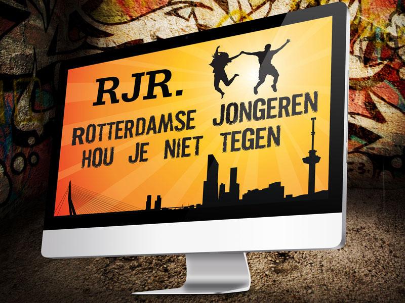Rotterdamse Jongerenraad Desktop Website