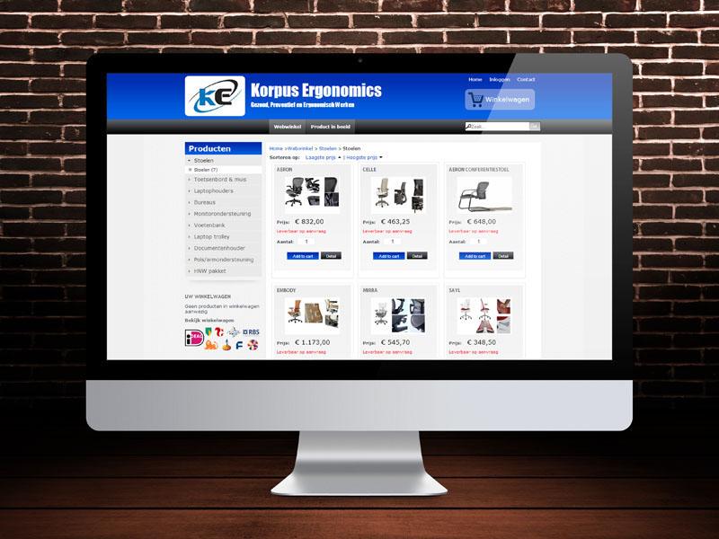 Korpus.info Responsive Website