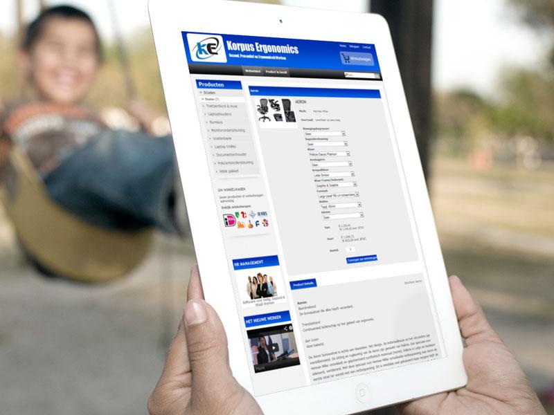 Korpus.info Mobiele Webwinkel