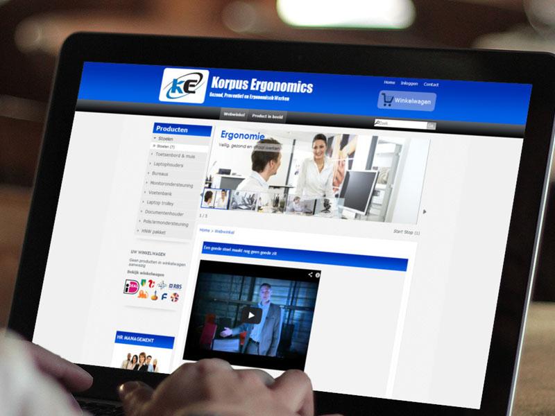 Korpus.info Responsive Webwinkel