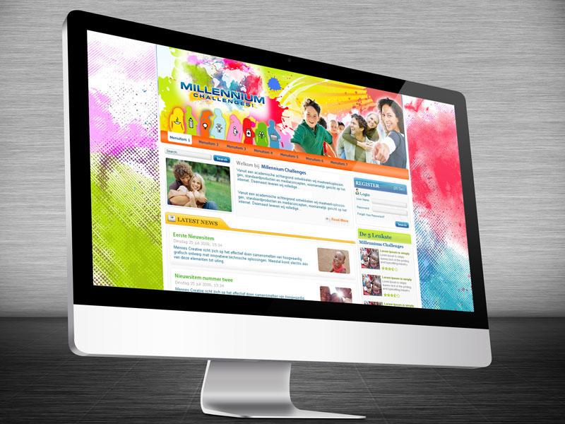 Millennium Challenges Website