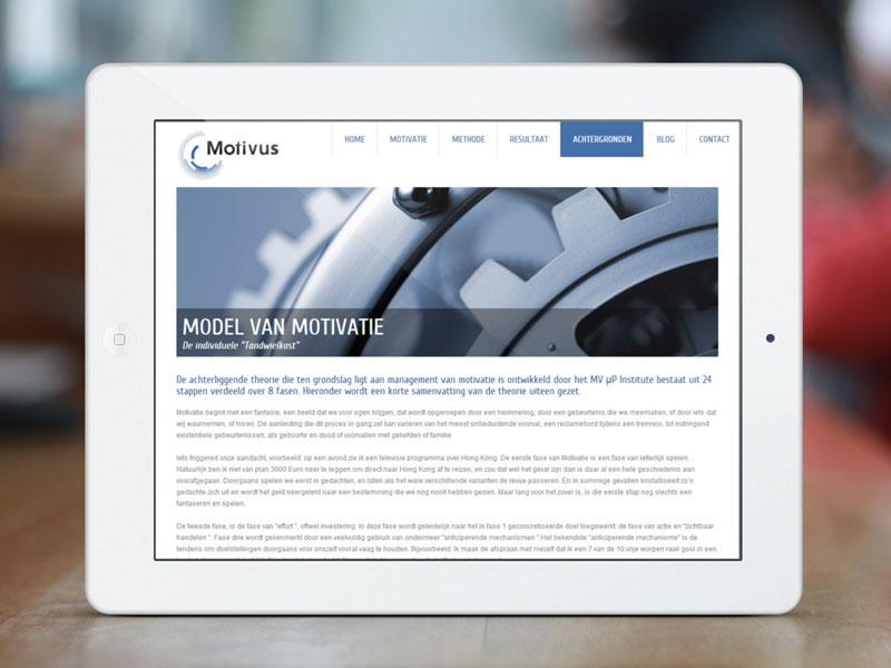 Motivus Mobiele Website