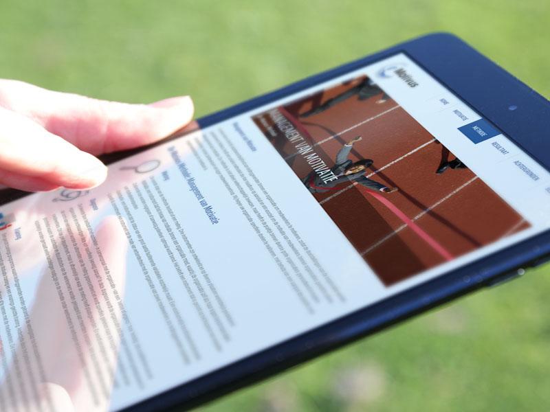Motivus Mobielvriendelijke Website