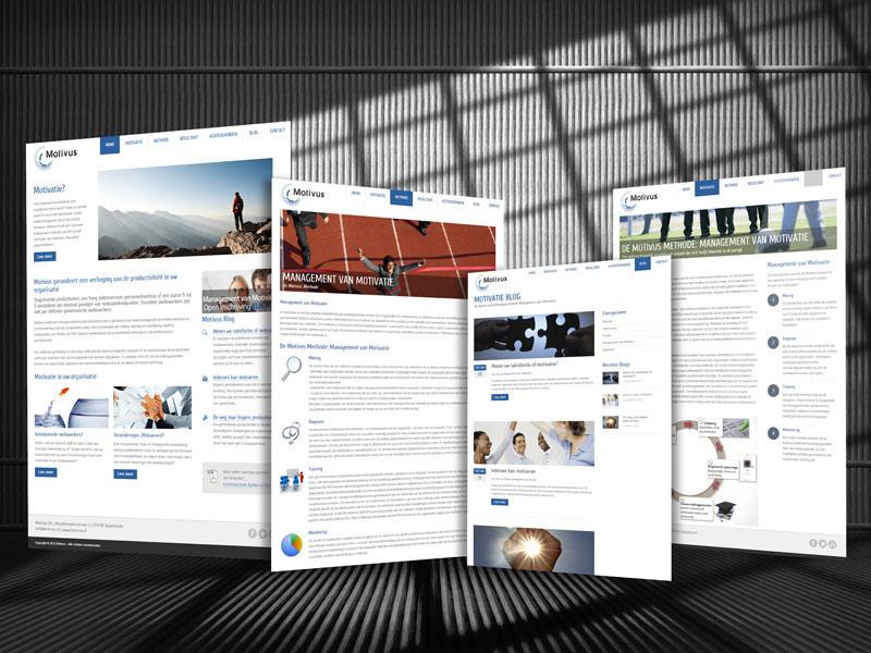 Motivus Responsive Website