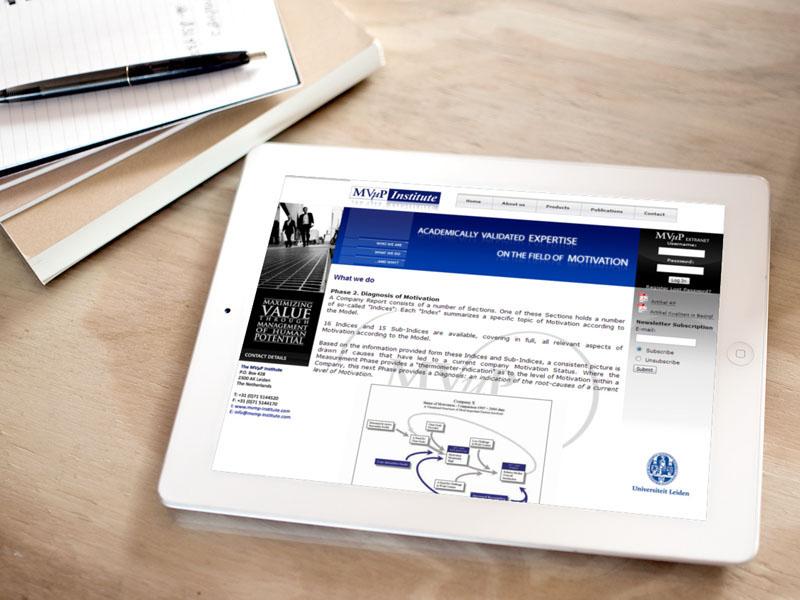 MVMP Mobiele Website