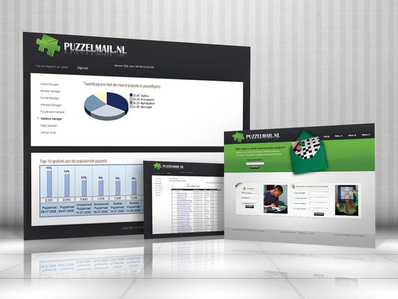Puzzelmail Responsive Webdesign