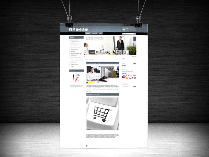 Rangkaian Webshop Design
