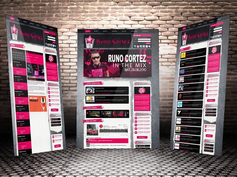 Runo Cortez Responsive Design