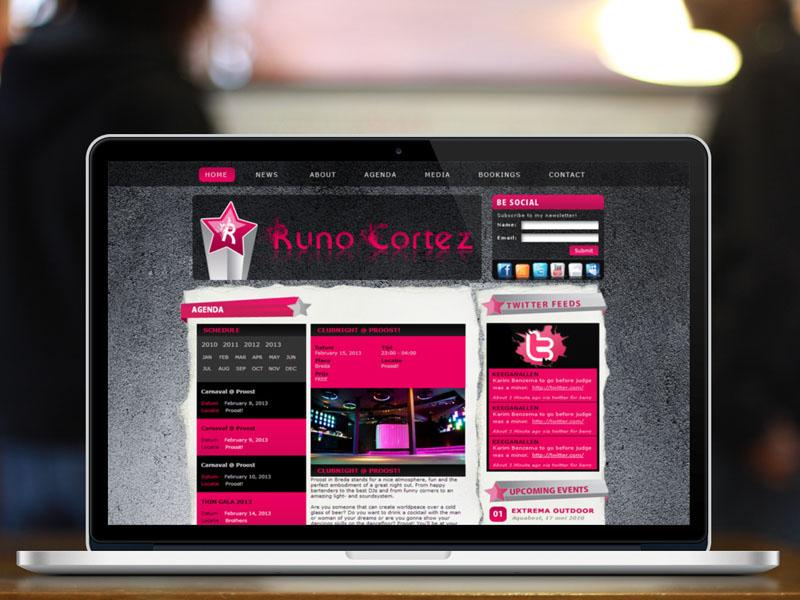 Runo Cortez Responsive Website