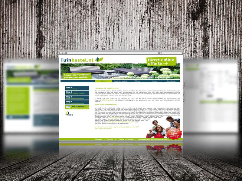 Tuinbestel.nl Responsive Website