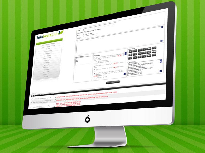 Tuinbestel.nl Responsive Webdesign
