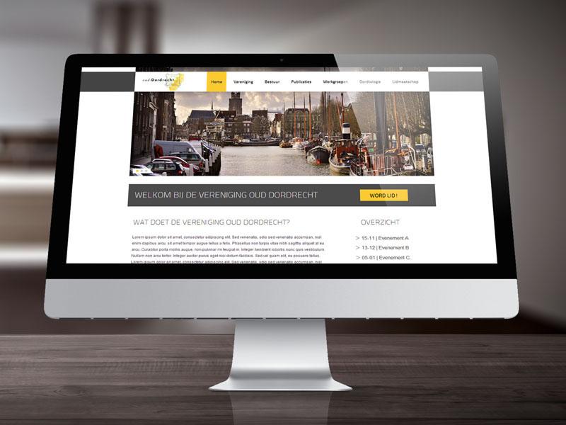 Vereniging Oud Dordrecht Responsive Website