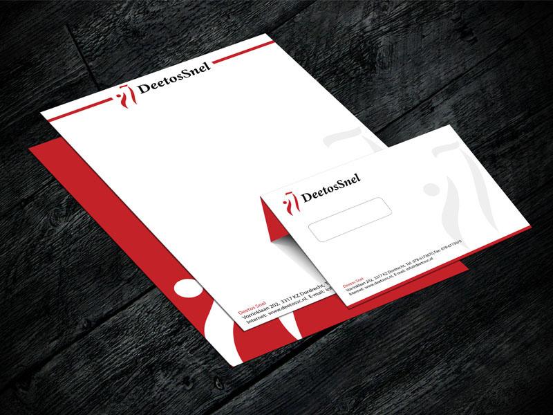 DeetosSnel Briefpapier Ontwerp