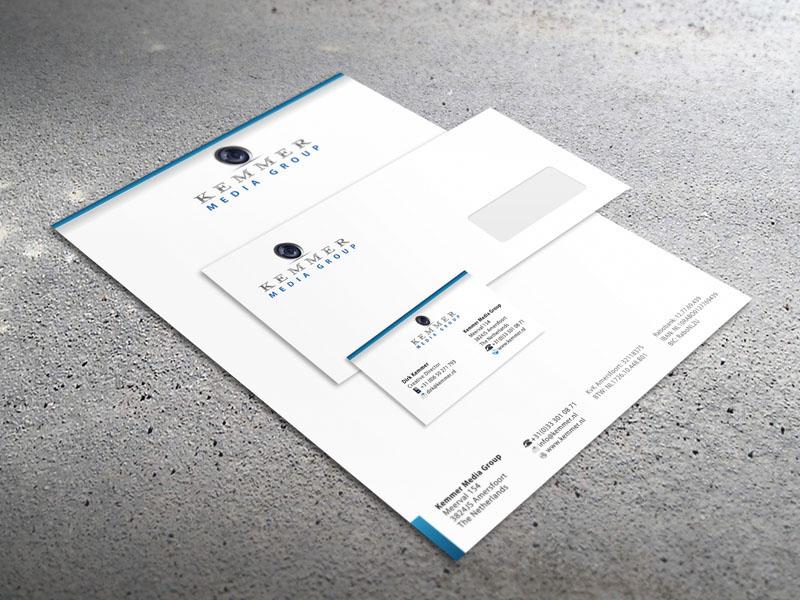 Kemmer Media Group Corporate Identity