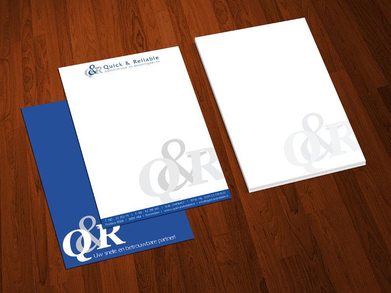 QRAB Briefpapier Ontwerp