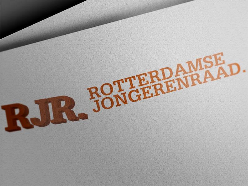 Rotterdamse Jongerenraad Huisstijl Logo