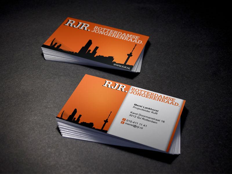 Rotterdamse Jongerenraad Visitekaart