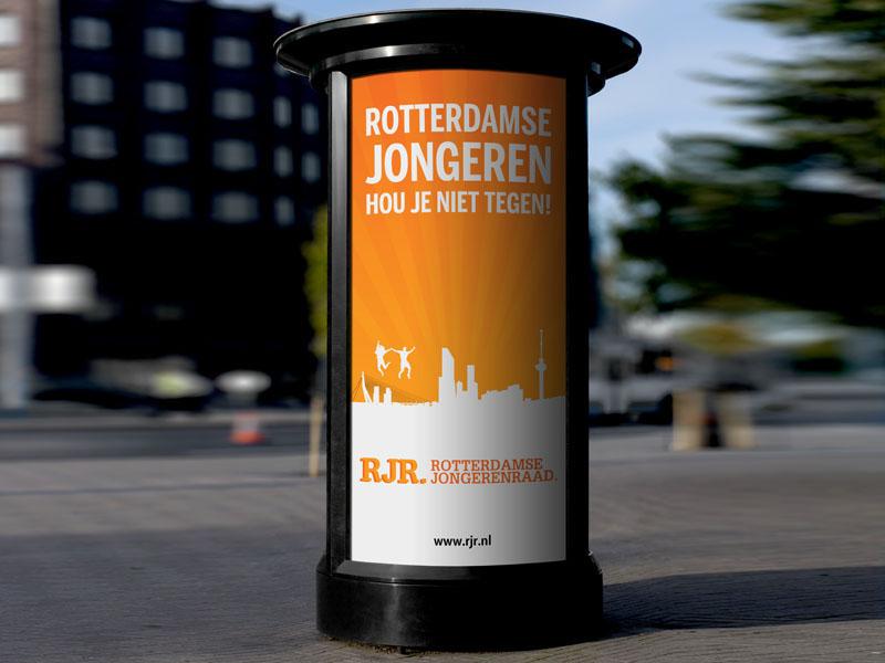Rotterdamse Jongerenraad Poster Ontwerp