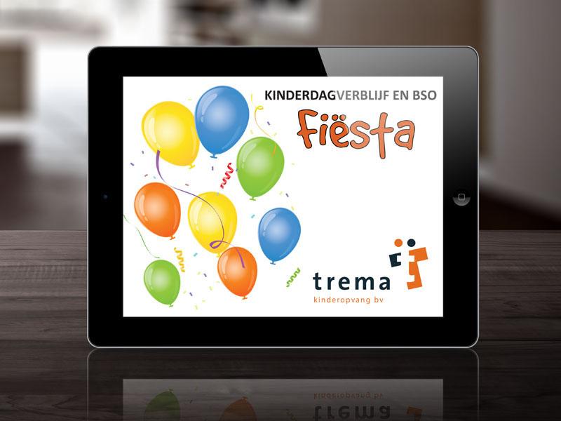 Trema Kinderopvang BV Mobiele Website
