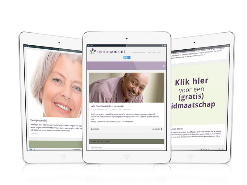 Seniorsoos Responsive Webdesign