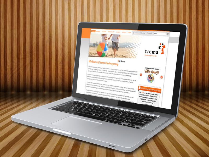 Trema Kinderopvang Interactieve Website