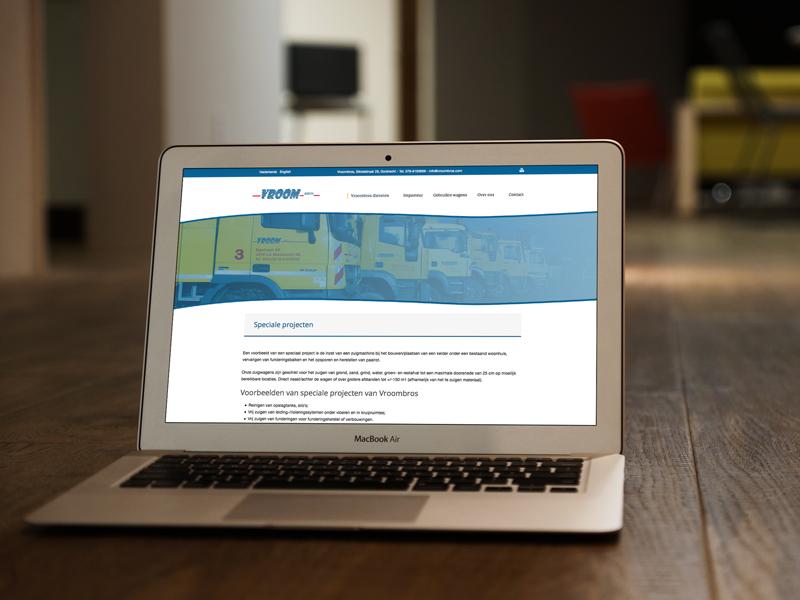Vroombros Responsive Website