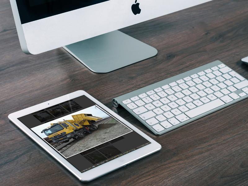 Vroombros Responsive Webdesign