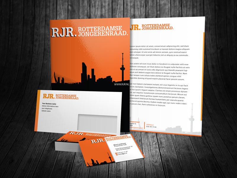 Rotterdamse Jongerenraad Corporate Identity