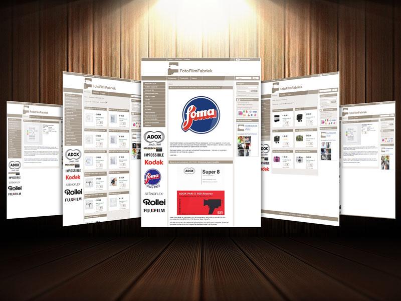 FotoFilmFabriek Webwinkel Beginnen